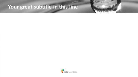 Free Presentation Template - Water Drop_05