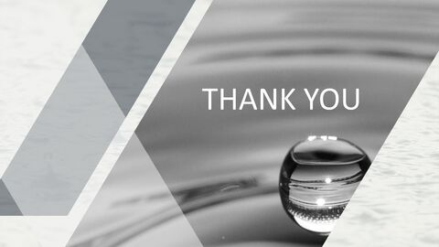 Free Presentation Template - Water Drop_03