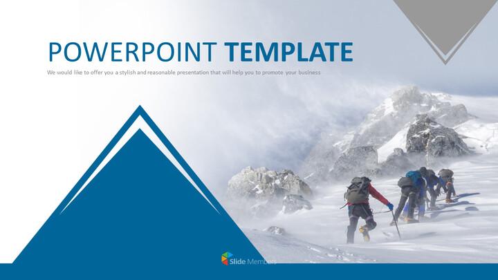 Google 슬라이드 무료 다운로드 - 에베레스트 산 등반_01