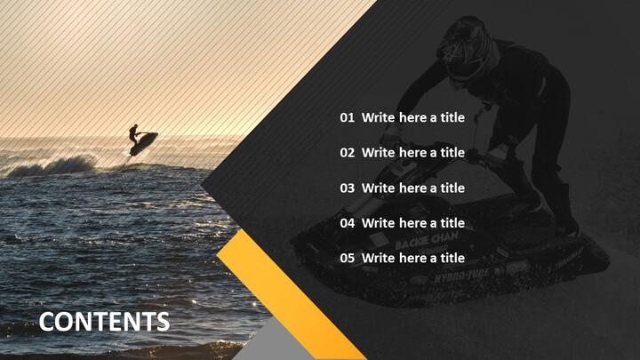 Google 슬라이드 이미지 무료 다운로드 - 제트 스키_02