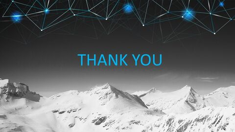눈 덮인 산의 정상 - 무료 Google 슬라이드 템플릿_03