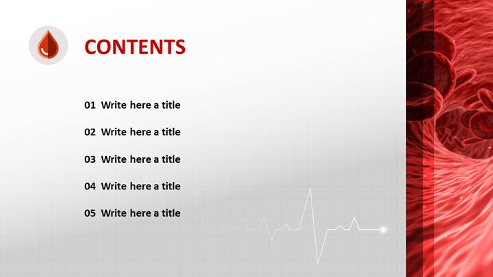 Blood and Red Blood Cells - Google Slides Download Free_04