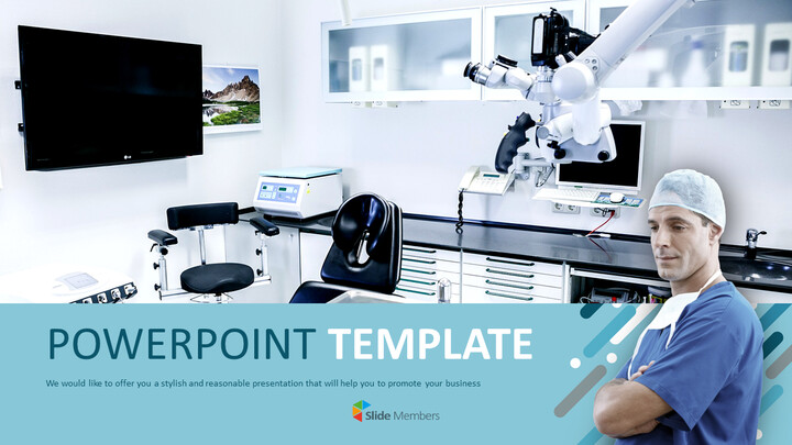 Dentist and Clinic - Google Slides online Free_01