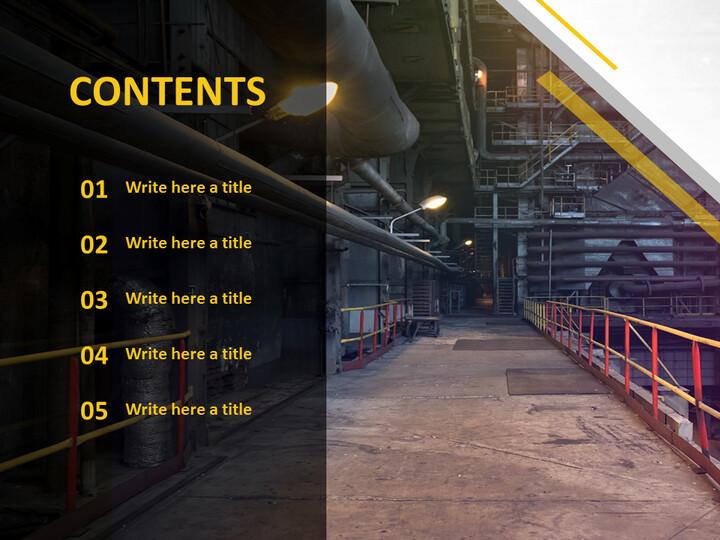 Free Google Slides - Manufacturing Companies_02