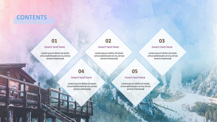 무료 Google 슬라이드 테마 - 겨울 소풍_04