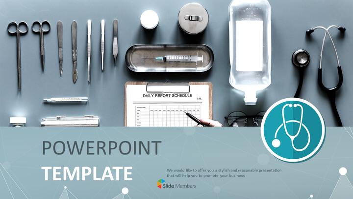 구글 슬라이드 템플릿 무료 다운로드 - 다양한 의료 도구_01