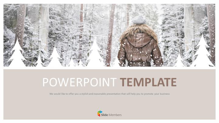 Snowy Mountain Climbing - Free Google Slides themes_01