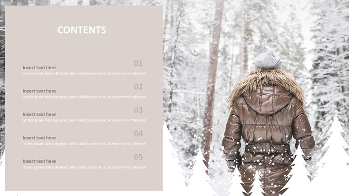 Snowy Mountain Climbing - Free Google Slides themes_05