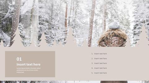 Snowy Mountain Climbing - Free Google Slides themes_02