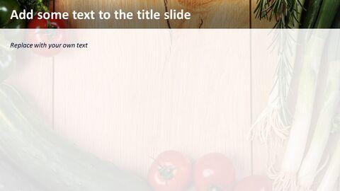 무료 Google 슬라이드 배경 - 유기농 야채_04