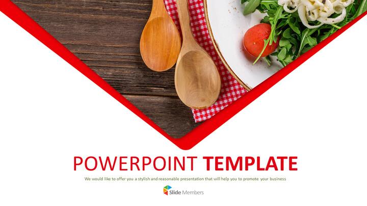 Free Presentation Template - Salad Plating_01