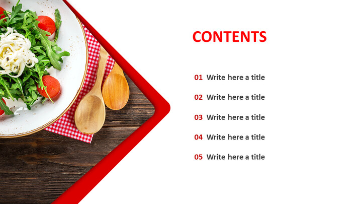 Free Presentation Template - Salad Plating_04