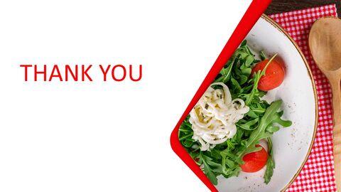 Free Presentation Template - Salad Plating_05