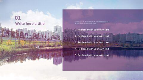 아파트 근처 호수 - 무료 Google 슬라이드 템플릿_02