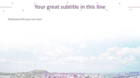 아파트 근처 호수 - 무료 Google 슬라이드 템플릿_03