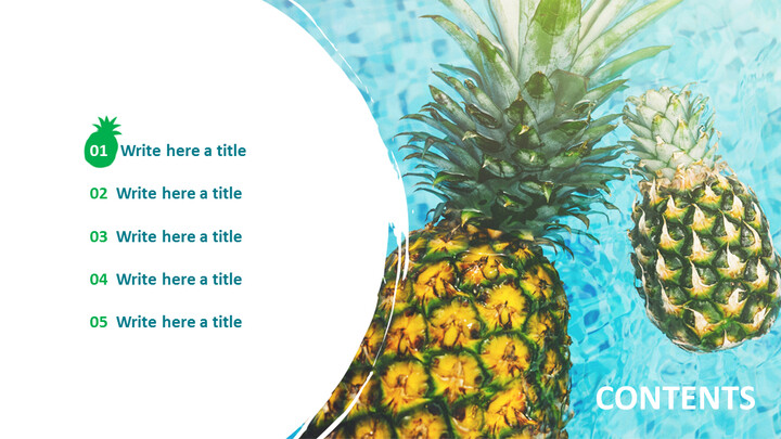 Pineapple - Free Google <span class=\'highlight\'>Slides</span> <span class=\'highlight\'>themes</span>_05