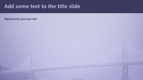 다리에 빛 - 무료 Google 슬라이드 배경_05