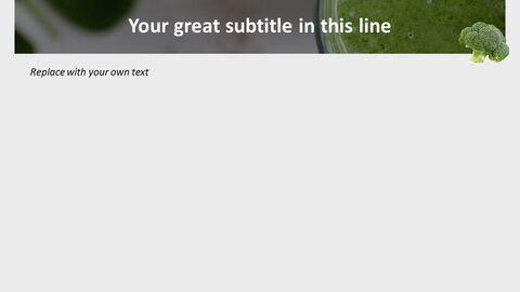 신선한 브로콜리 - 무료 구글 슬라이드 템플릿 디자인_03