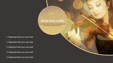 Google 슬라이드 템플릿 무료 다운로드 - 바이올린 연주_03