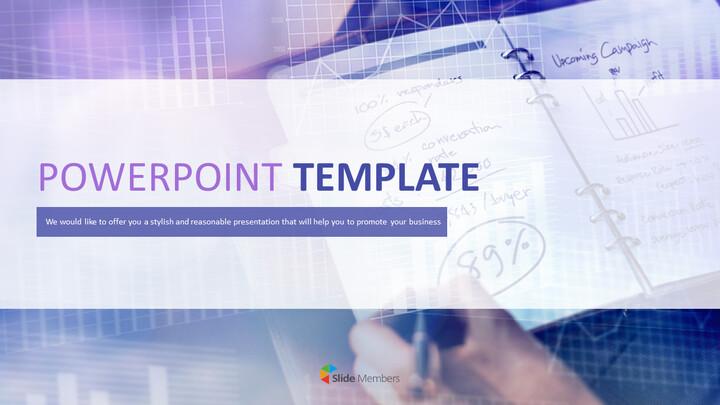 마케팅 분석 - 무료 Google 슬라이드 템플릿 디자인_01
