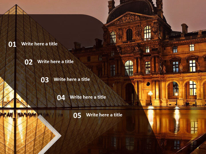 The Louvre Museum - Free Google Slides Template Design_02