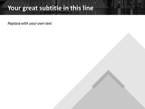 The Louvre Museum - Free Google Slides Template Design_03