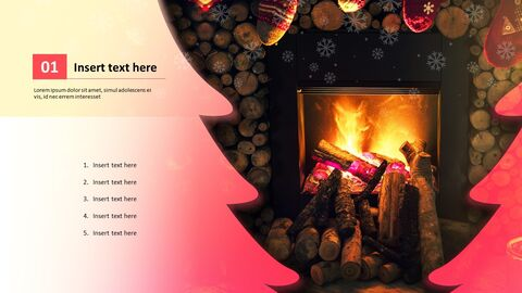 Winter Fireplace - Free Google Slides themes_02