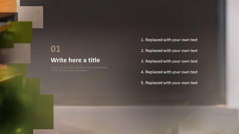 비즈니스 우먼 - 무료 Google 슬라이드 템플릿_03