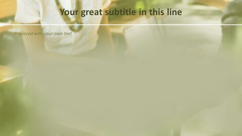 비즈니스 우먼 - 무료 Google 슬라이드 템플릿_05