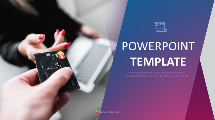 Credit Card Payment - Google Slides Template Free Download_01