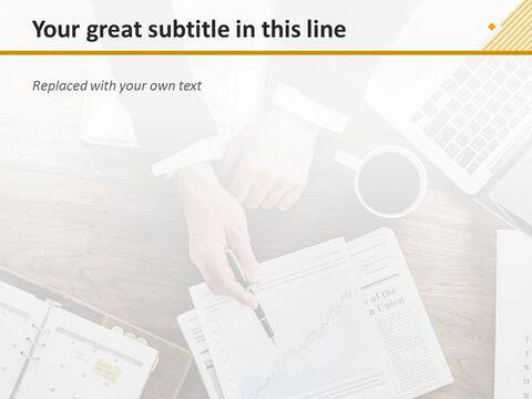 Google 슬라이드 무료 다운로드 - 비즈니스 차트_04