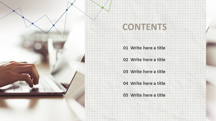 Laptop Typing - Free Presentation Template_05