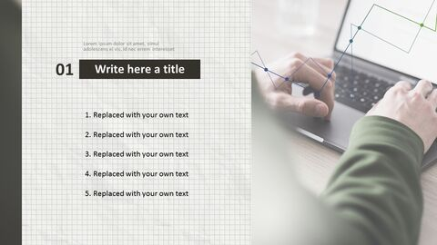 Laptop Typing - Free Presentation Template_02