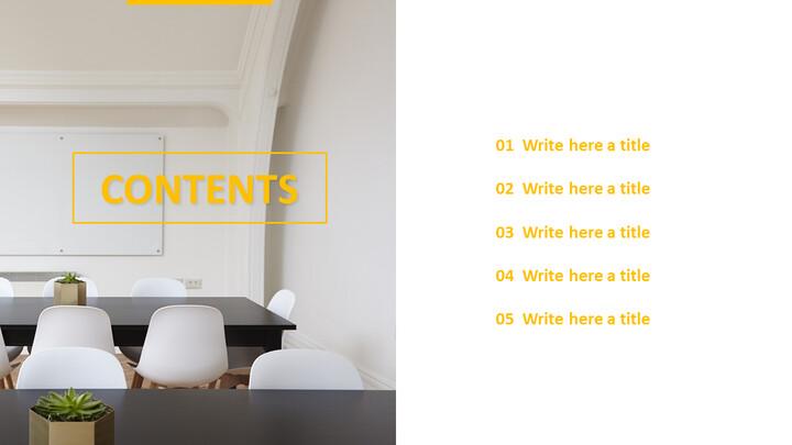 생산적인 회의 - 무료 Google 슬라이드 배경_04