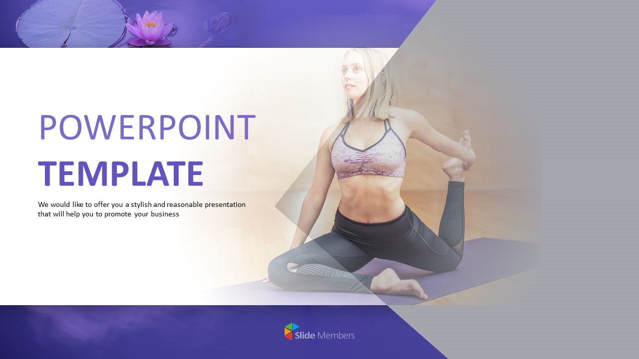 Yoga Meditation Free Google Slides Templates