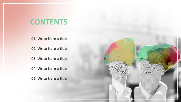 Colored Ice-cream - Google Slides Images Free Download_02
