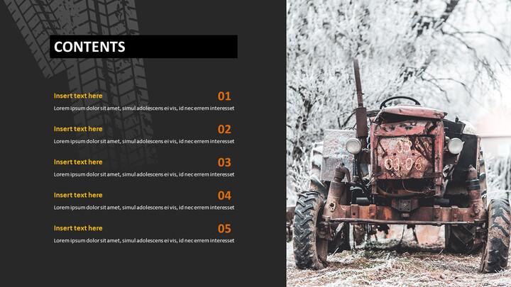 Google Slides Free - Old Tractor_04