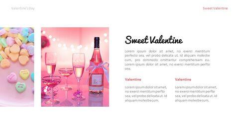 달콤한 발렌타인 프레젠테이션용 Google 슬라이드 테마_03