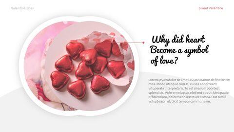 달콤한 발렌타인 프레젠테이션용 Google 슬라이드 테마_05