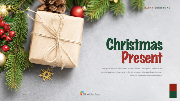 Christmas Present Keynote Templates_01