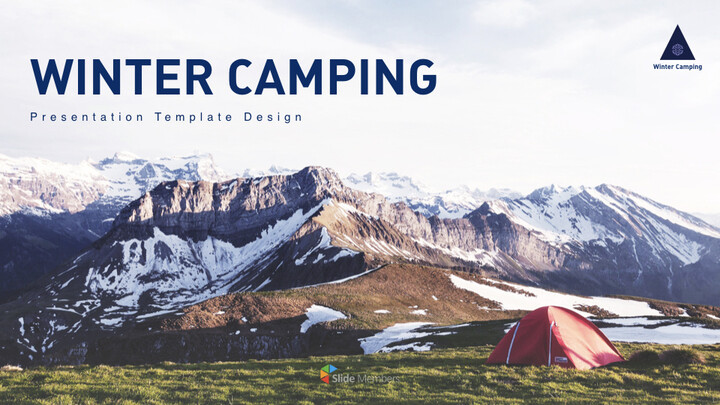 Winter Camping Keynote to PPT_01