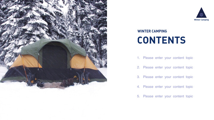 Winter Camping Keynote to PPT_02