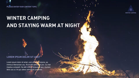 Winter Camping Keynote to PPT_05