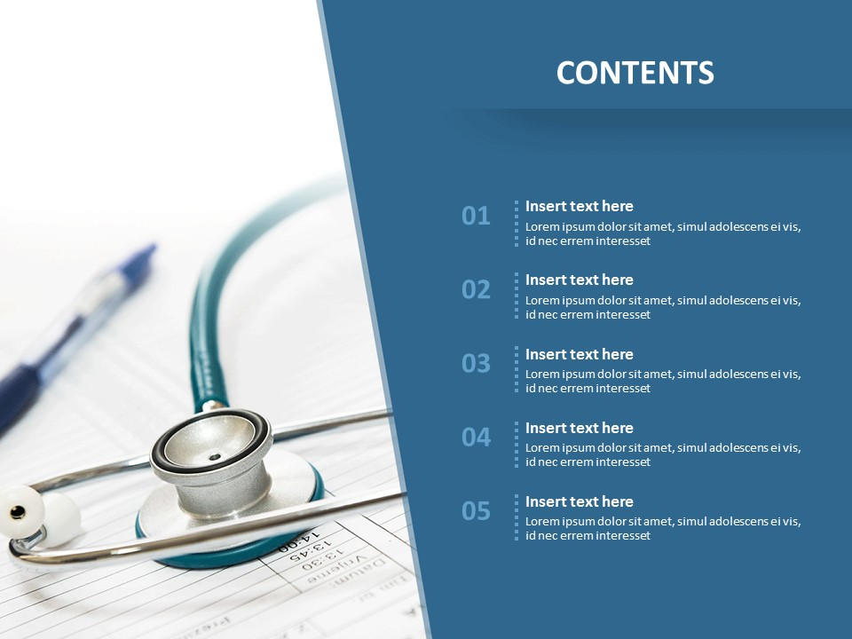 Free Ppt Template Diagnosis Of A Disease