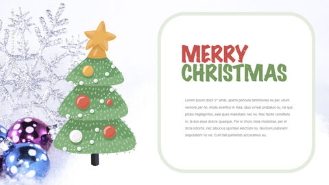 Happy Christmas Theme Keynote Design_03