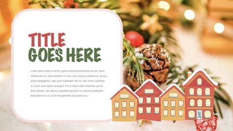 행복한 크리스마스 테마 키노트 디자인_06