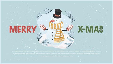 행복한 크리스마스 테마 키노트 디자인_09