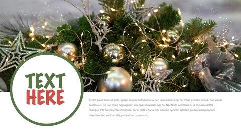 행복한 크리스마스 테마 키노트 디자인_10