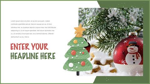 행복한 크리스마스 테마 키노트 디자인_11