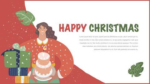 행복한 크리스마스 테마 키노트 디자인_12